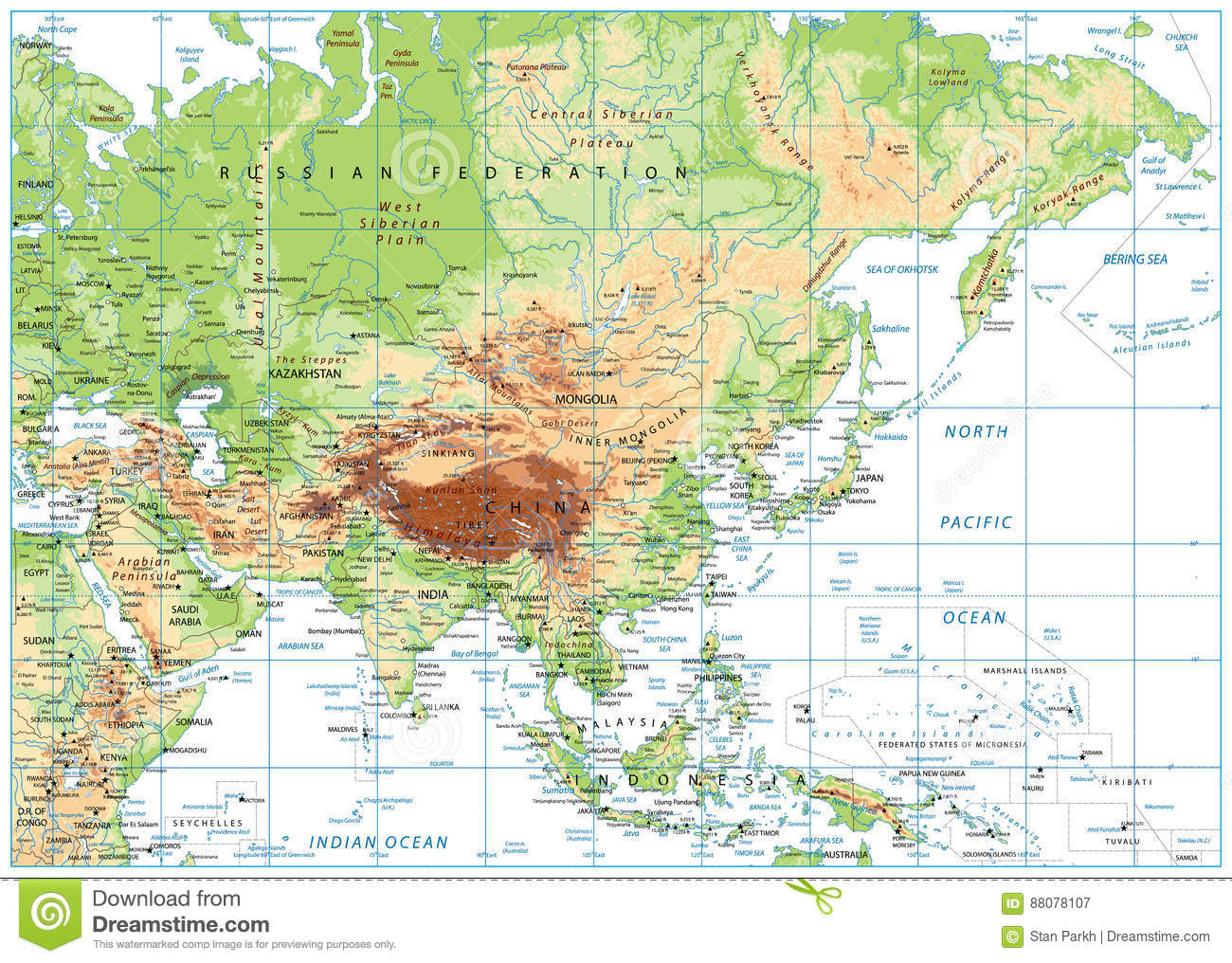 F:\cina\asia-physical-map-isolated-white-vector-illustration-88078107.jpg